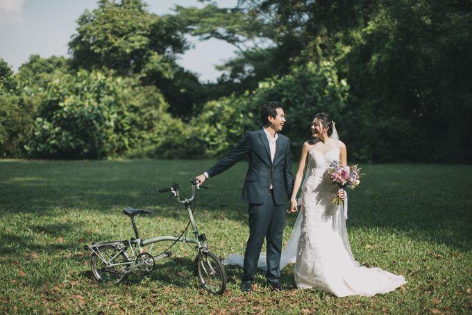 Rustic Purple Pre-wedding Shoot by Gin Tan makeup artist - 005