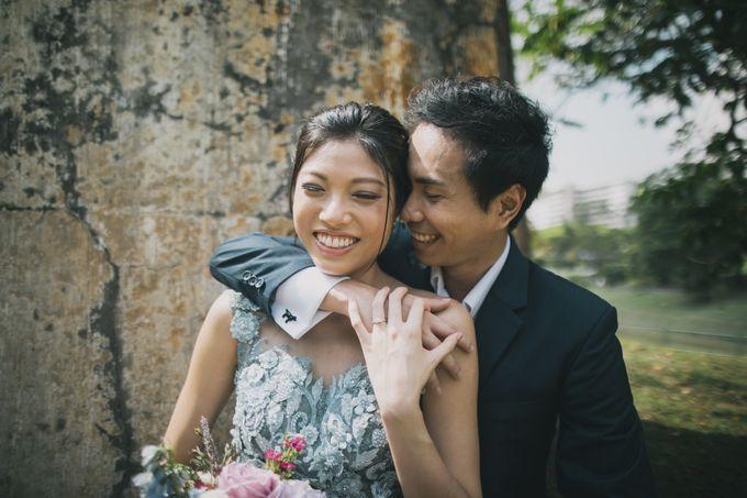 Rustic Purple Pre-wedding Shoot by Gin Tan makeup artist - 007
