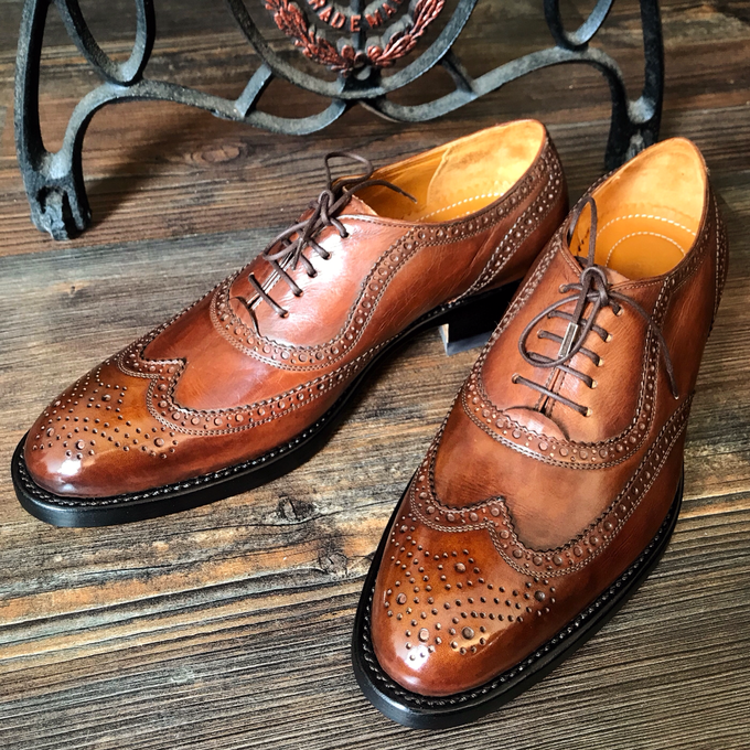 Dress shoes by minen leather - 001