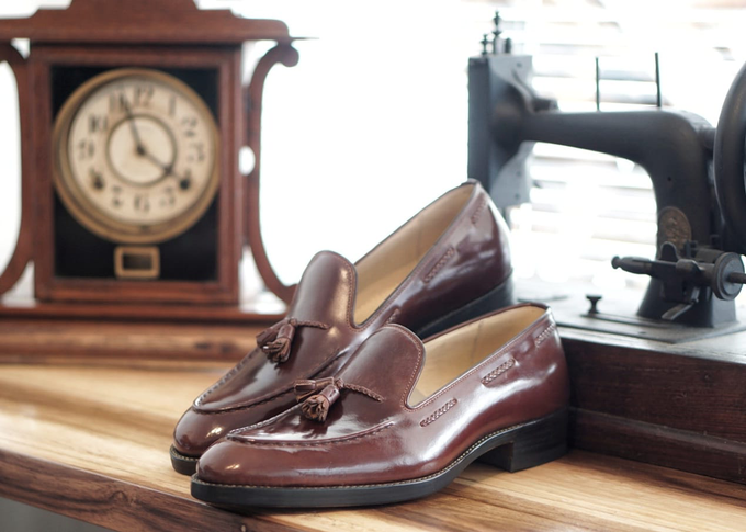 Dress shoes by minen leather - 010