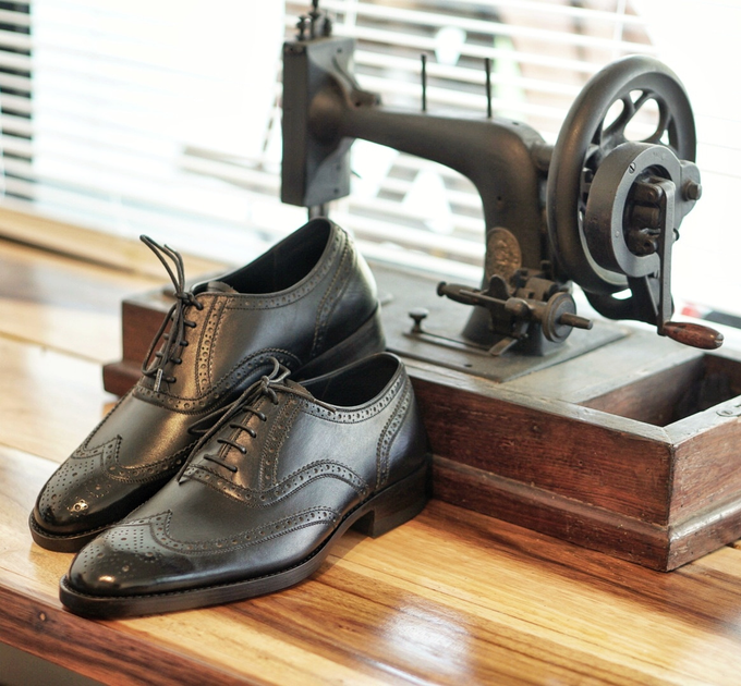 Dress shoes by minen leather - 013