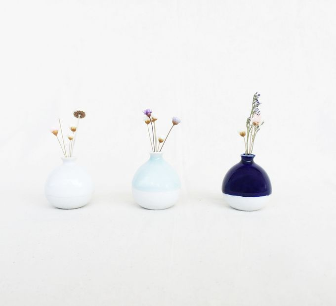 Handmade Mini Vase- Classic Color Collection by Oh!eaf - 001