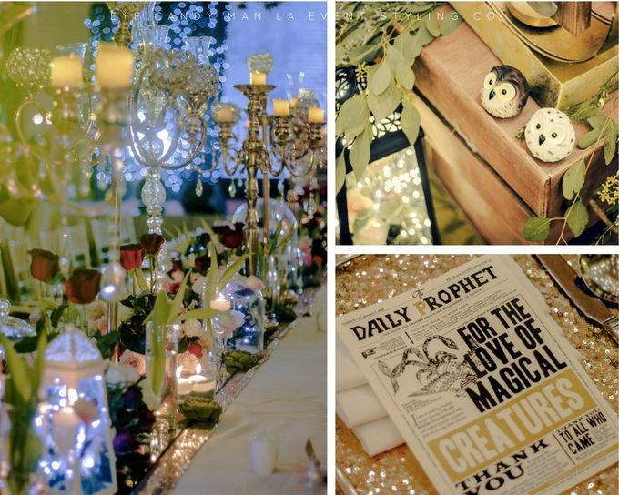 Harry Potter Inspired Wedding by Eye Candy Manila Event Styling Co. - 002