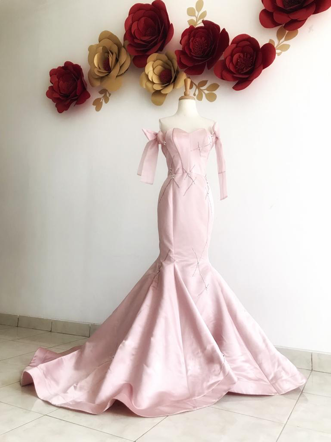 Engagement Gown Ready Rent by Miracle Atelier - 001