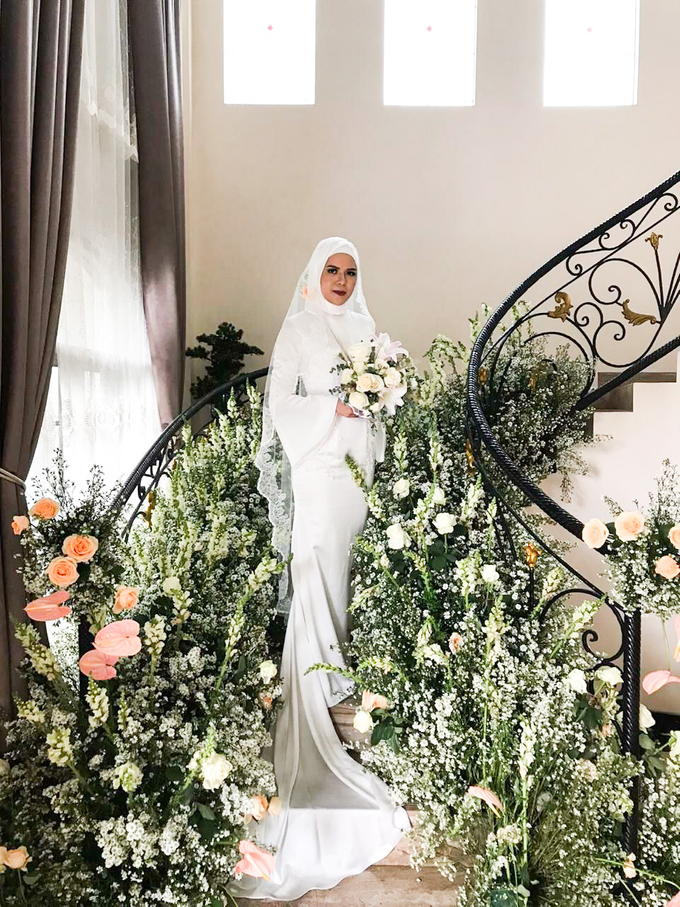 Meirissa Hijab Gown custom made by Miracle Atelier - 001