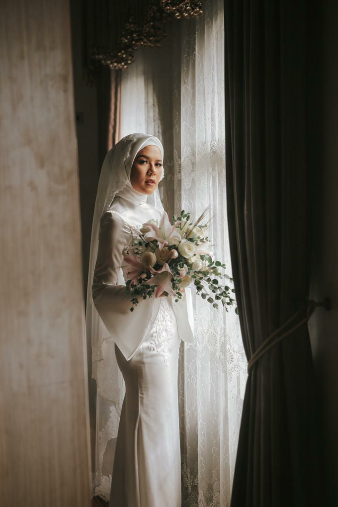Meirissa Hijab Gown custom made by Miracle Atelier - 004