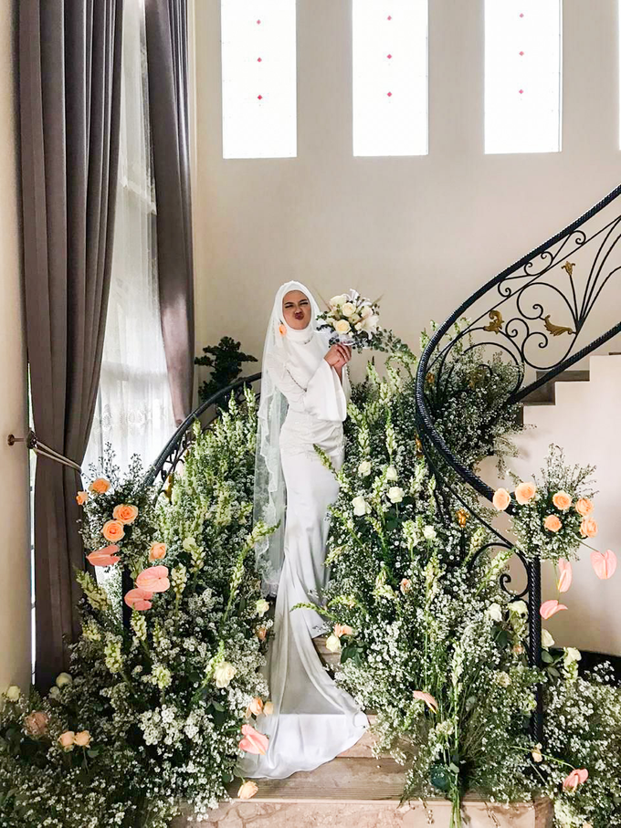 Meirissa Hijab Gown custom made by Miracle Atelier - 002