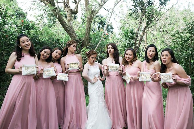 KHRIZEL and KENNETH | Bridal Entourage Dresses by Miss Merie Designs ...