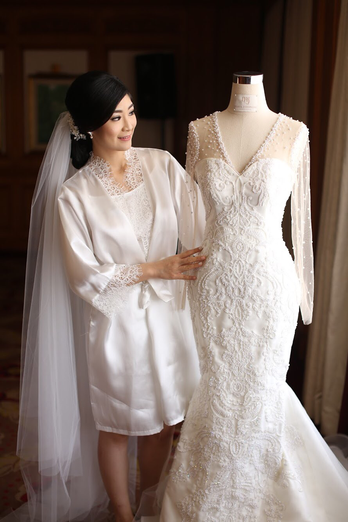 Charles x Tania wedding by Mj couture - 001