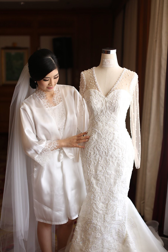 Charles x Tania wedding by Mj couture - 003