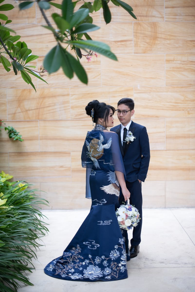 Nerissa Reception Wedding by Mj couture - 002