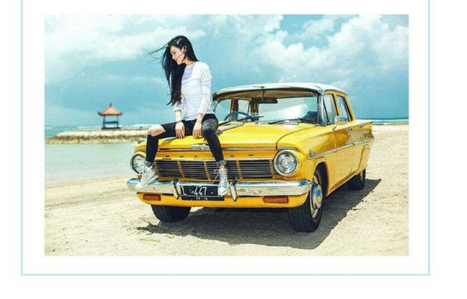 Yellow Classic Car by Bali Classic Community - 006