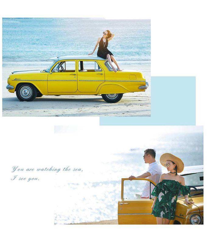 Yellow Classic Car by Bali Classic Community - 003