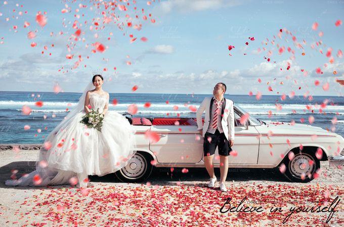 White Classic Car by Bali Classic Community - 023