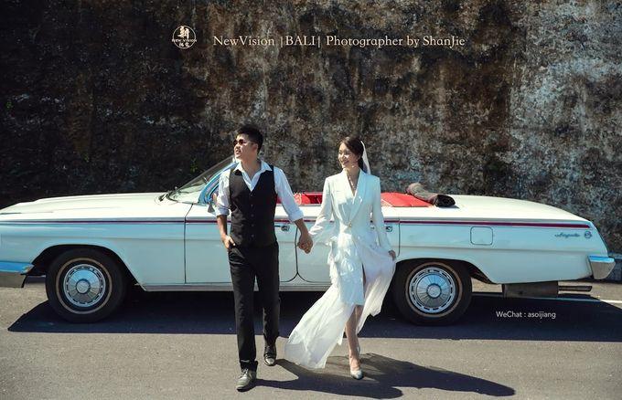 White Classic Car by Bali Classic Community - 020