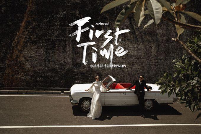 White Classic Car by Bali Classic Community - 022