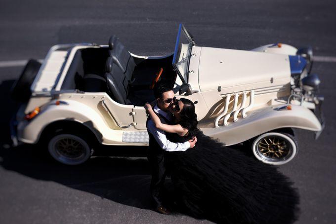White Classic Car by Bali Classic Community - 031