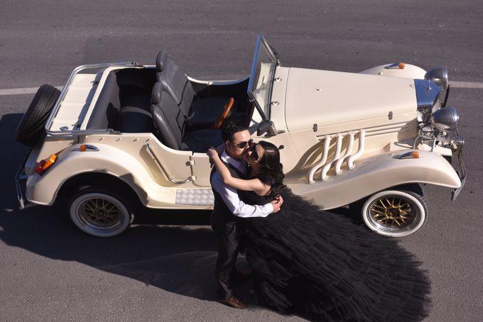 White Classic Car by Bali Classic Community - 033