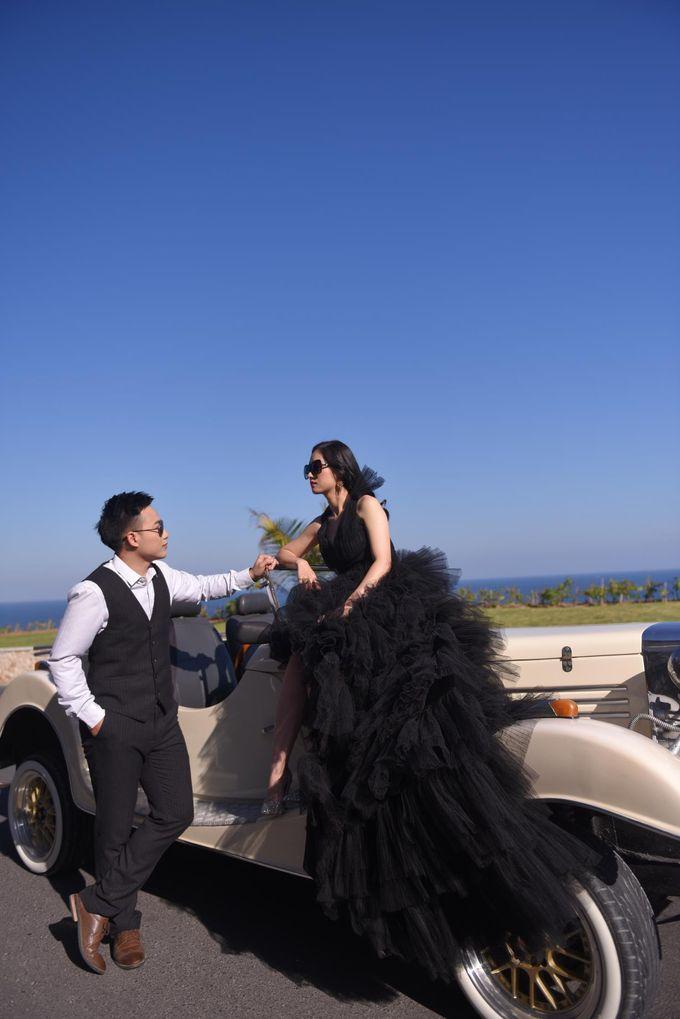 White Classic Car by Bali Classic Community - 019