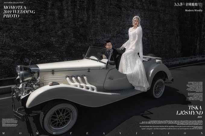 White Classic Car by Bali Classic Community - 011