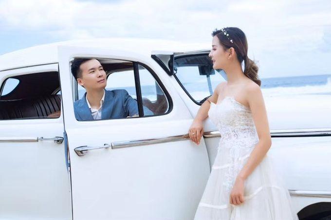 White Classic Car by Bali Classic Community - 005
