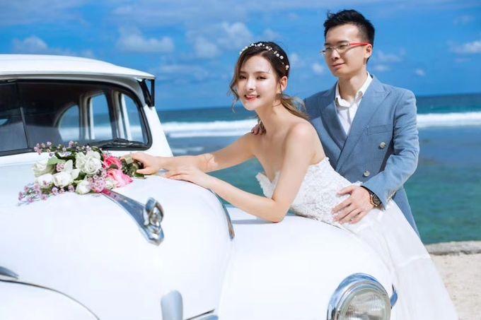 White Classic Car by Bali Classic Community - 009