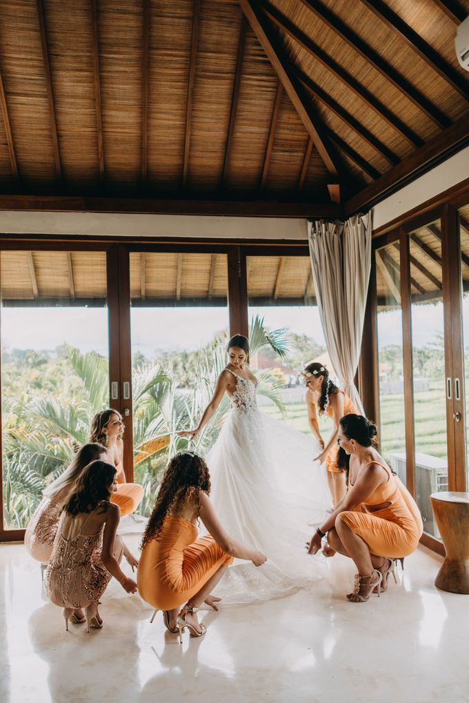The Wedding of Ms Olga and Mr Marc by Bali Wedding Atelier - 011
