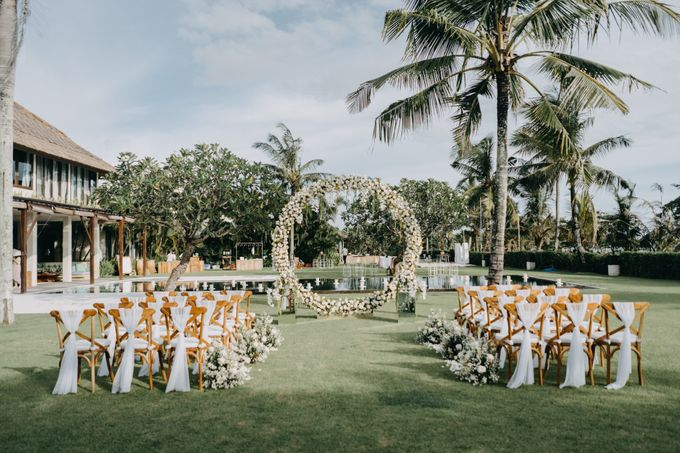 The Wedding of Ms Olga and Mr Marc by Bali Wedding Atelier - 015