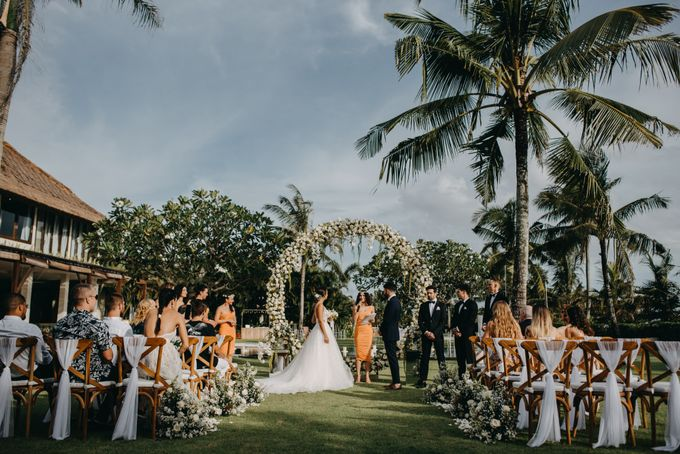 The Wedding of Ms Olga and Mr Marc by Bali Wedding Atelier - 022