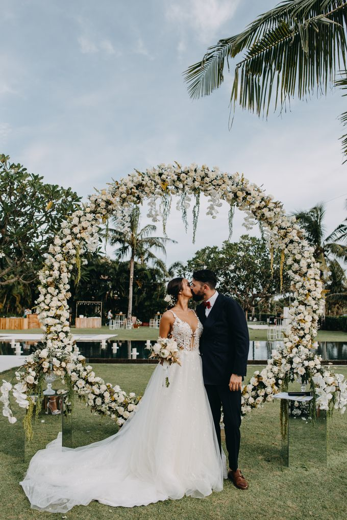 The Wedding of Ms Olga and Mr Marc by Bali Wedding Atelier - 027