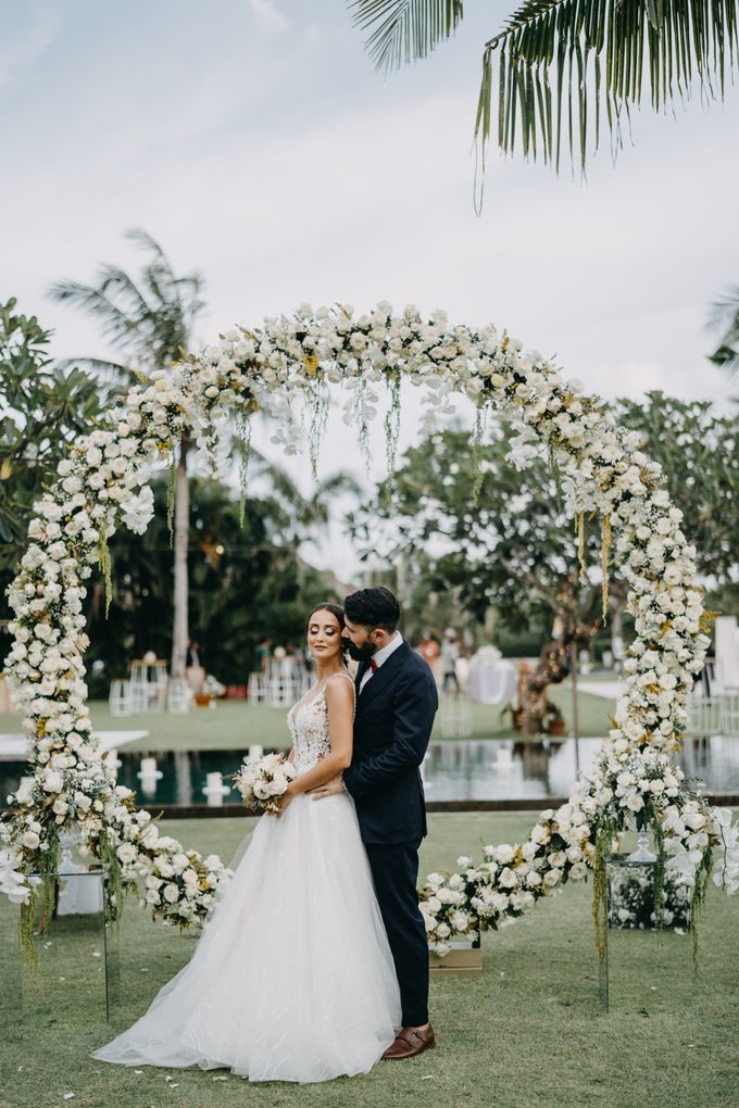 The Wedding of Ms Olga and Mr Marc by Bali Wedding Atelier - 030