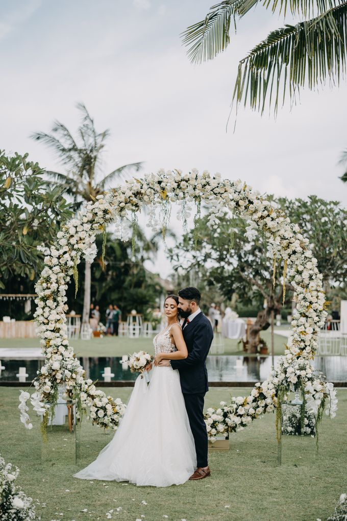 The Wedding of Ms Olga and Mr Marc by Bali Wedding Atelier - 031