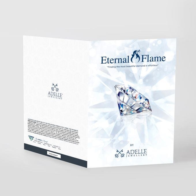 Rose DAmour Wedding Ring Eternal Flame with GemEx Certification by Adelle Jewellery - 012
