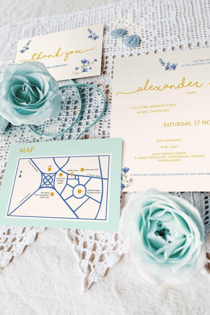 Alexander & Valerie by Petite Chérie Invitation - 001