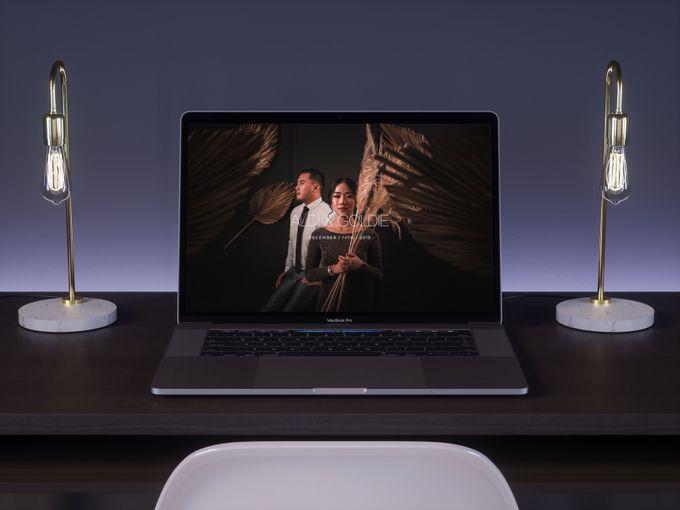 WEDDING WEBSITE - ALDI & GOLDIE by Our Days & Co - Wedding Website Design - 001