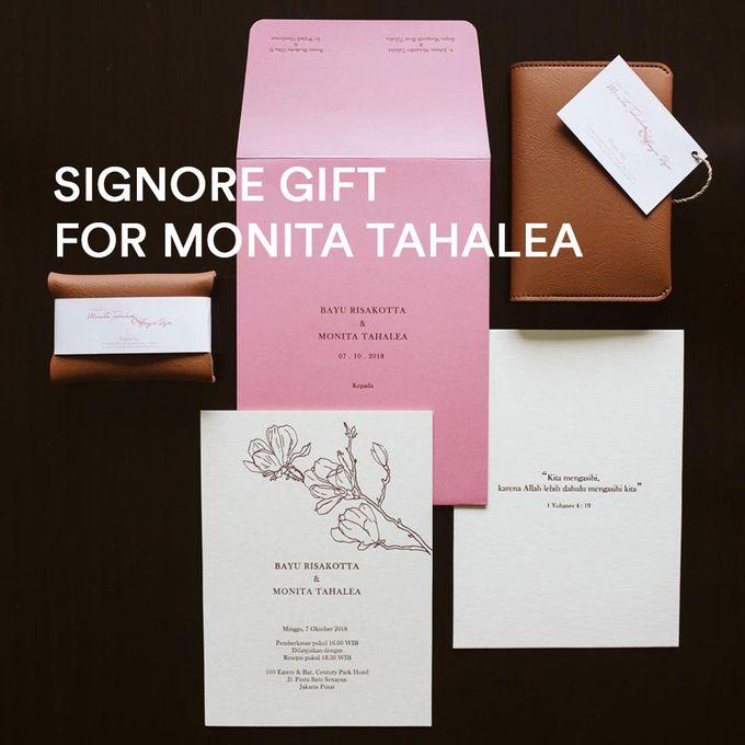 From Monita Tahalea & Bayu Risa Wedding by Signore Gift - 001