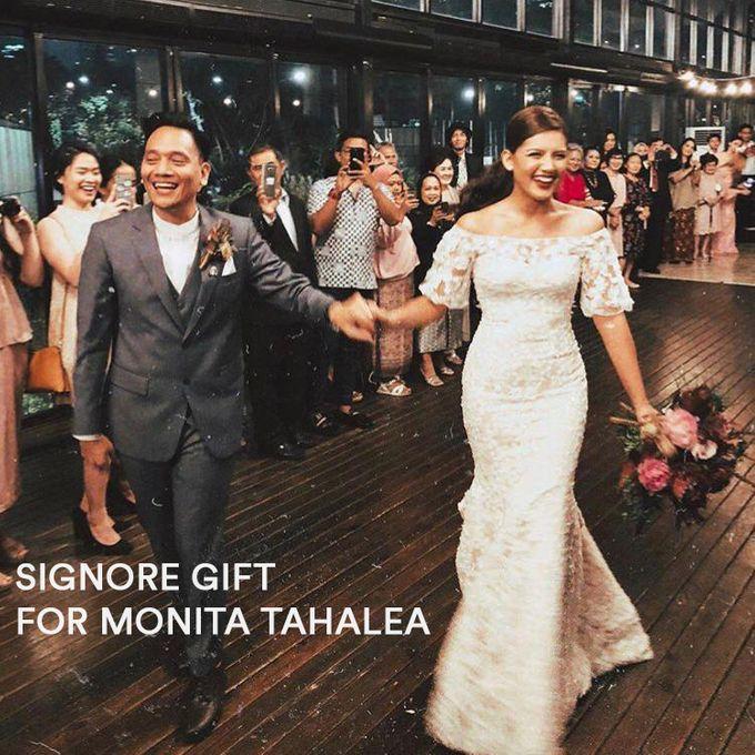 From Monita Tahalea & Bayu Risa Wedding by Signore Gift - 004