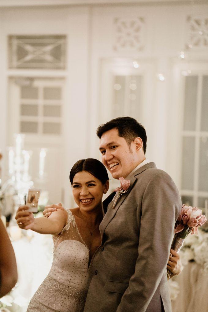 Kevin & Monica Wedding at Hermitage Jakarta by AKSA Creative - 010
