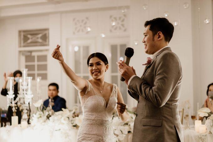 Kevin & Monica Wedding at Hermitage Jakarta by AKSA Creative - 005