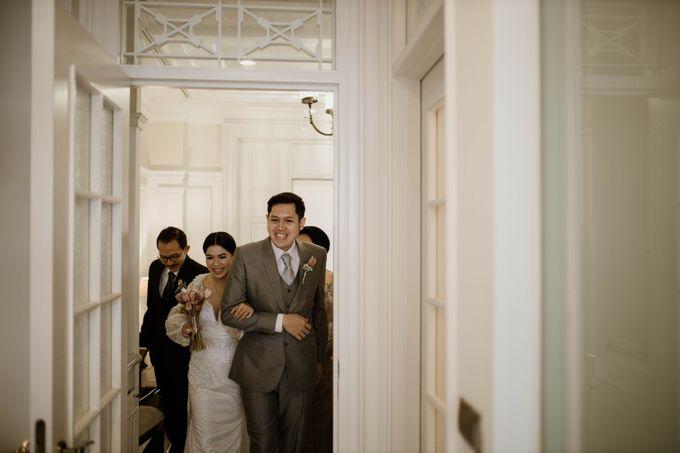Kevin & Monica Wedding at Hermitage Jakarta by AKSA Creative - 046