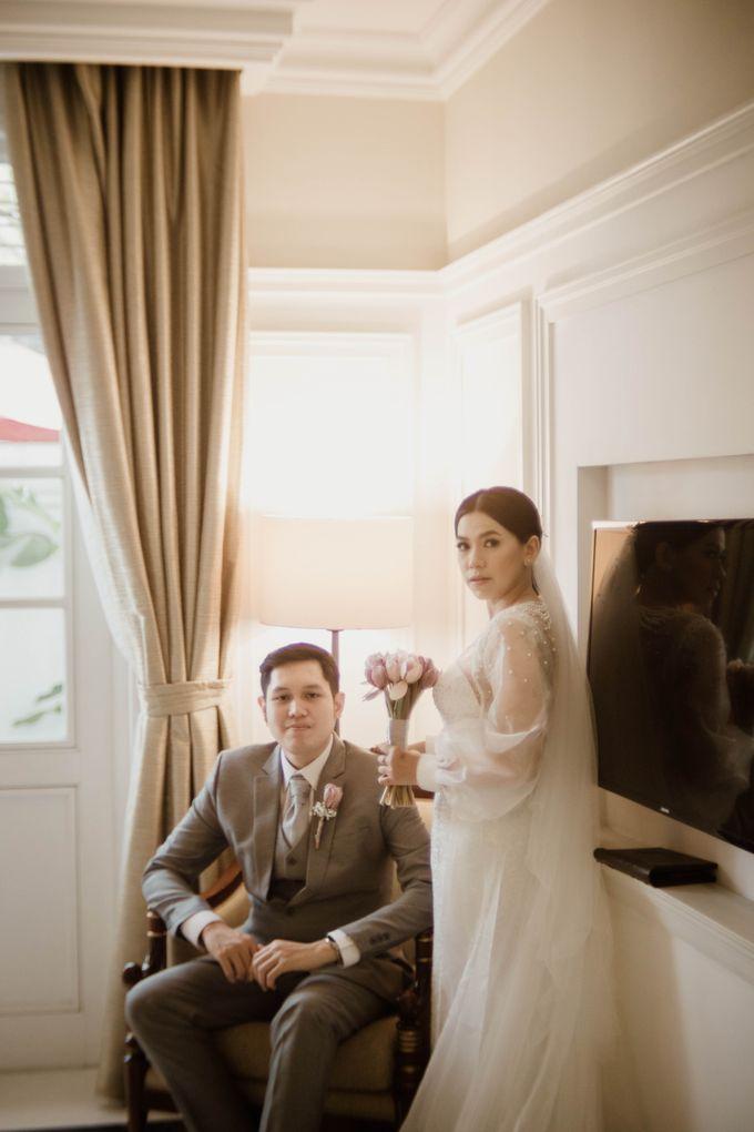 Kevin & Monica Wedding at Hermitage Jakarta by AKSA Creative - 048