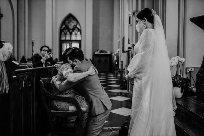 Kevin & Monica Wedding at Hermitage Jakarta by AKSA Creative - 043