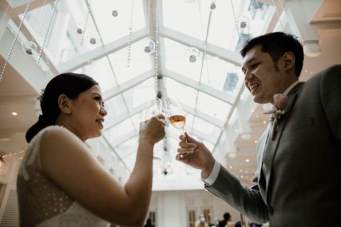 Kevin & Monica Wedding at Hermitage Jakarta by AKSA Creative - 034