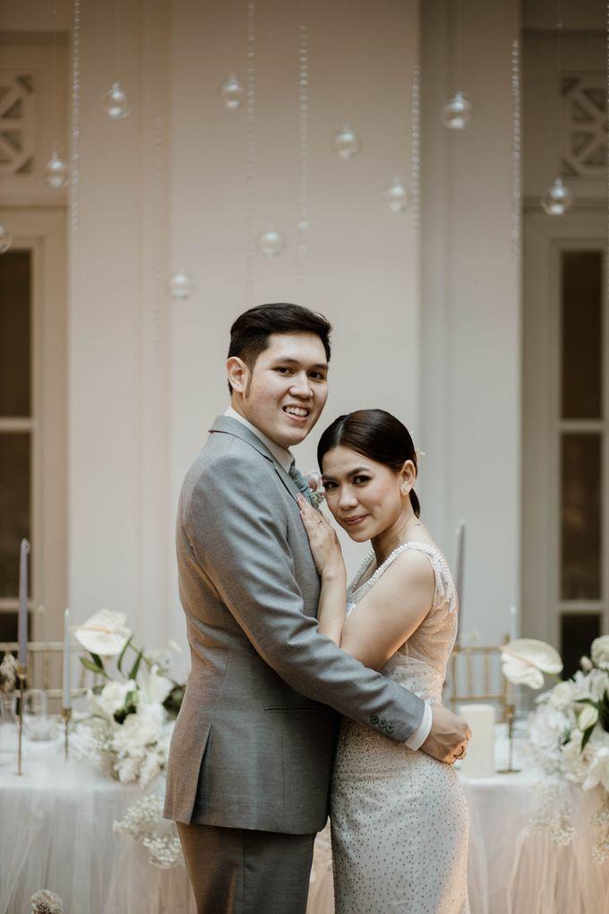Kevin & Monica Wedding at Hermitage Jakarta by AKSA Creative - 027