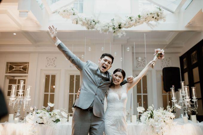 Kevin & Monica Wedding at Hermitage Jakarta by AKSA Creative - 029