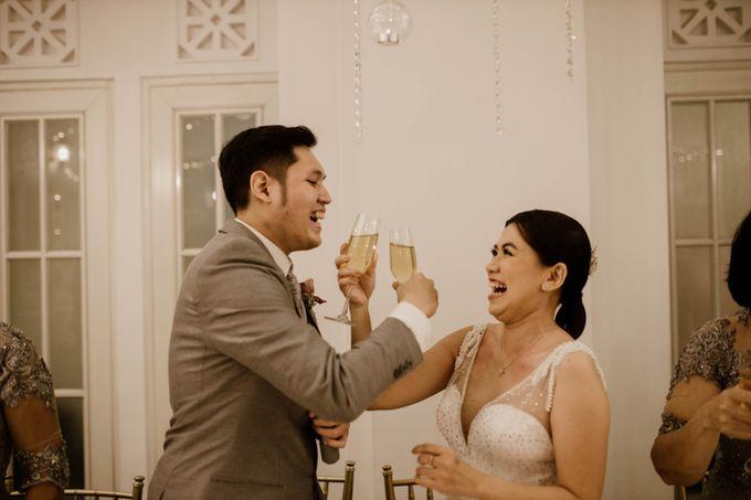 Kevin & Monica Wedding at Hermitage Jakarta by AKSA Creative - 023