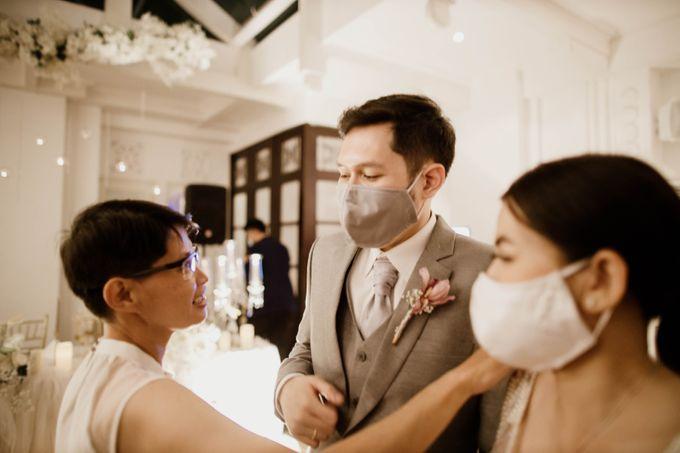 Kevin & Monica Wedding at Hermitage Jakarta by AKSA Creative - 014