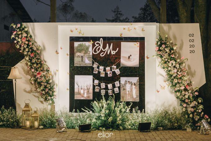 The Wedding of Monique & Gabriel by Elior Design - 010