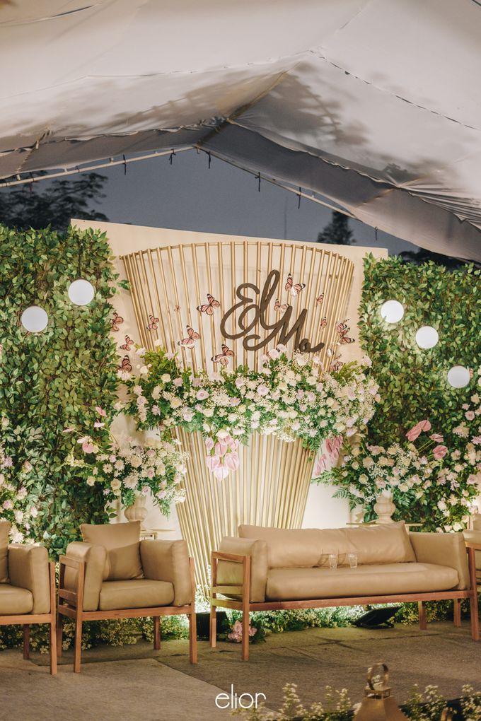 The Wedding of Monique & Gabriel by Elior Design - 014