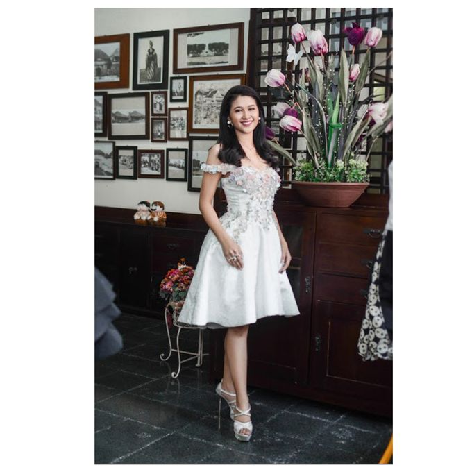 Monique After Party Dress by Yenny Lee Bridal Couture - 004
